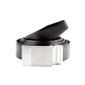 BOSS Hugo Boss Men's Reversible Belt Gift Set - Black/Brown