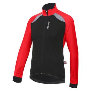 Santini Polar Windstopper Winter Jacket - Red