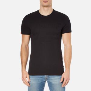 Superdry Men's Shirt Shop Embossed T-Shirt - Black