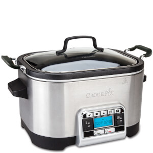 Crock-Pot CSC024 5.6 Litre Digital Slow & Multi Cooker - Stainless Steel