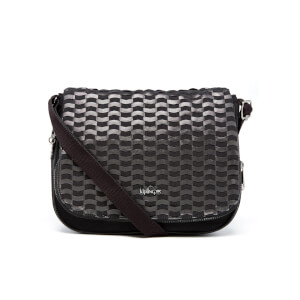 Kipling Women's Earthbeat Medium Cross Body Bag - Weaving Black