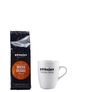 Beanies Premium Mocha Orange Roast Coffee
