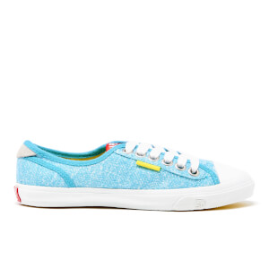 Superdry Women's Low Pro Trainers - Aquamarine Marl