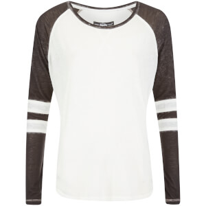 Superdry Women's Essential Burnout T-Shirt - Optic/Black