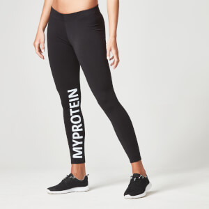 Myprotein Women's Logo Leggings – Black