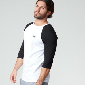 Myprotein Männer Baseball T-Shirt - Weiß