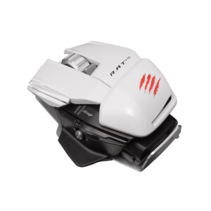Mad Catz R.A.T.M Wireless Mobile Gaming Mouse - White