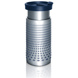 Bobble Presse Coffee Cup - Silver