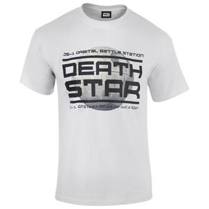 Star Wars: Rogue One Men's Death Star Logo T-Shirt - White