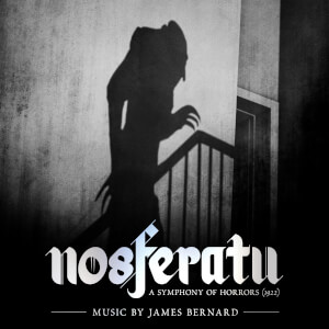 Nosferatu - Original Soundtrack (2LP) - Transparent Red Vinyl With Foil Blocked Gatefold Sleeve