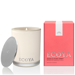 ECOYA Guava and Lychee Candle - Madison Jar