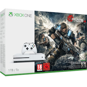 Xbox One S 1TB Console With Gears of War 4