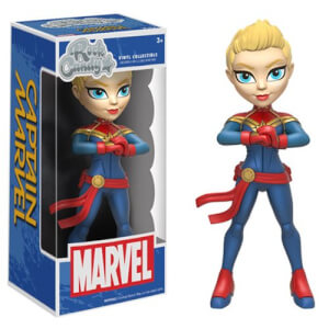 Captain Marvel Rock Candy Vinyl Figure