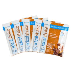 5 IdealShake Chocolate Peanut Butter Samples