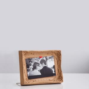 Desktop Cork Board Picture Frame