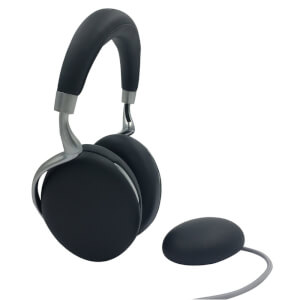 Parrot Zik 3 Wireless Headphones with Wireless Charger - Black Leather Grain
