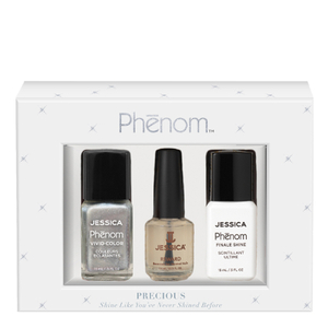 Jessica Nails Phenom Precious Metals Gift Set - Antique Silver