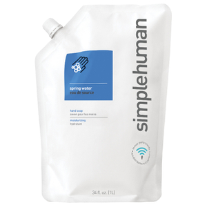 simplehuman Liquid Hand Soap Refill Pouch - Spring Water 1L