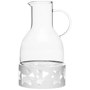Sagaform Mulled Wine Pot with Warmer - White