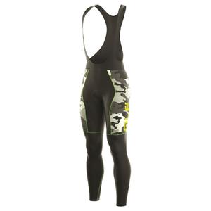 Alé PRR Roubaix Camo Bib Tights - Black/Green