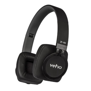 Veho Limited Edition Z10 Headphones with In-line Mic - Black