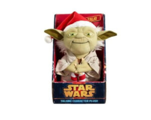 Star Wars Yoda Christmas Talking Plush (Medium 9