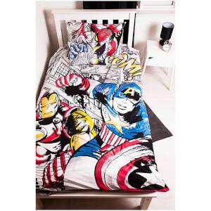 Marvel Comics Bed Bundle - Single