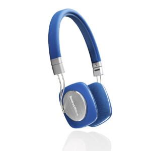 Bowers & Wilkins P3 On-Ear Headphones - Blue - Manufacturer Refurbished