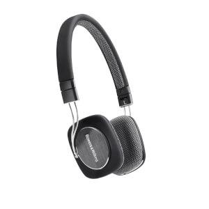 Bowers & Wilkins P3 On-Ear Headphones - Black - Manufacturer Refurbished
