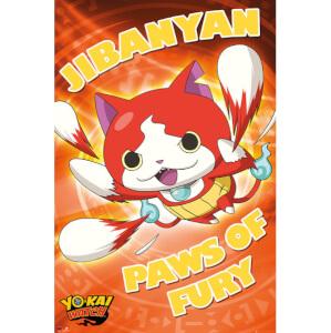 Yo-Kai Watch Paws Of Fury Maxi Poster - 61 x 91.5cm