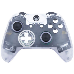 Custom Controllers Xbox One Controller - Transparent: Chrome Edition