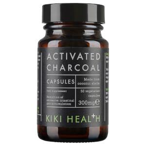 KIKI Health Activated Charcoal - 50 Vegicaps