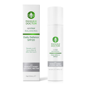 Manuka Doctor ApiClear Daily Defence SPF20 Cream