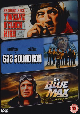 Twelve O'Clock High/ 633 Squadron/ The Blue Max