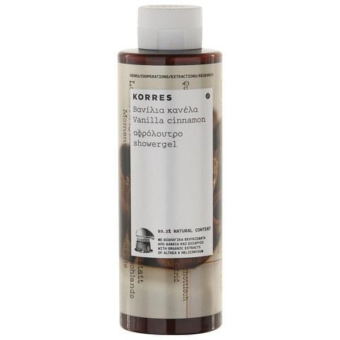 Korres Vanilla Cinnamon Shower Gel (250ml)