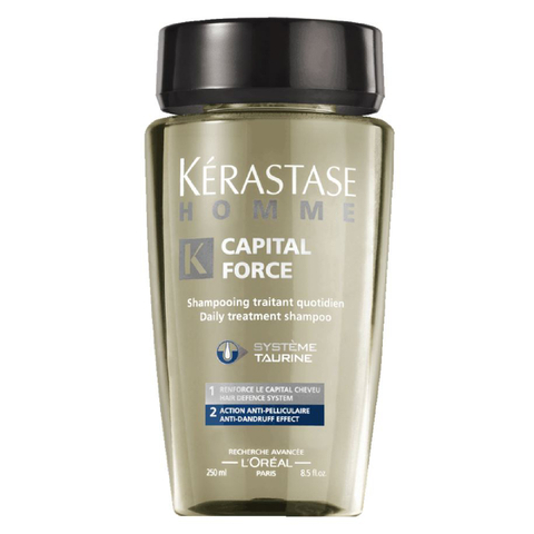 Shampoing Kérastase Homme Capital Force Anti-pelliculaire