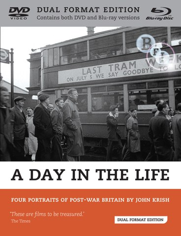 A Day in the Life: Four Portraits of Post-war Britain by John Krish (DVD and Blu-Ray)