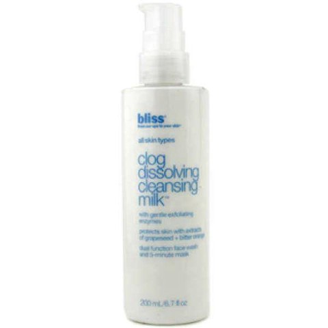 bliss Clog-Dissolving Cleansing Milk 200ml
