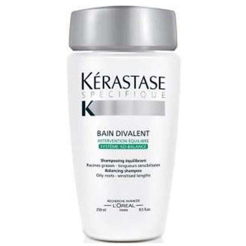 K rastase bain divalent 250ml free delivery for Bain miroir 1 kerastase