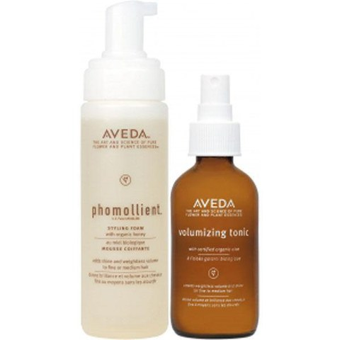 Soins coiffants volumisants Aveda Volume Styling Cocktail (2 produits)