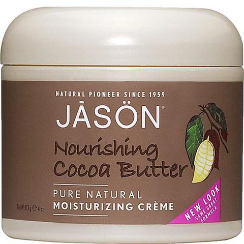 Crema hidratante intensiva manteca de cacao JASON (120g)