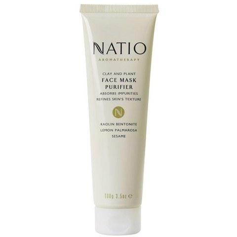 Natio Clay & Plant Face Mask Purifier (Reinigungsmaske) 100gr