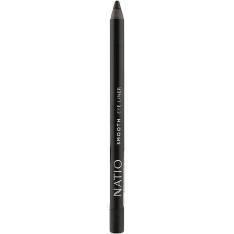 Natio Smooth Eye Liner - Black (2g)