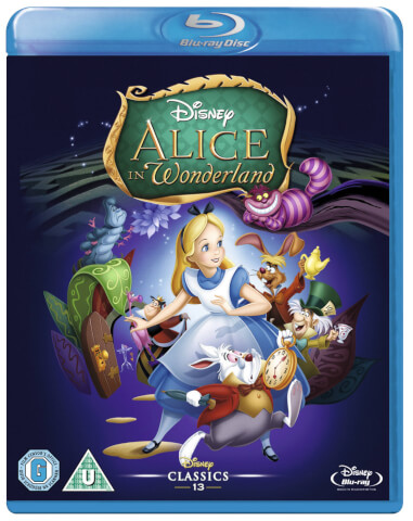 Alice in Wonderland Animated (Single Disc)