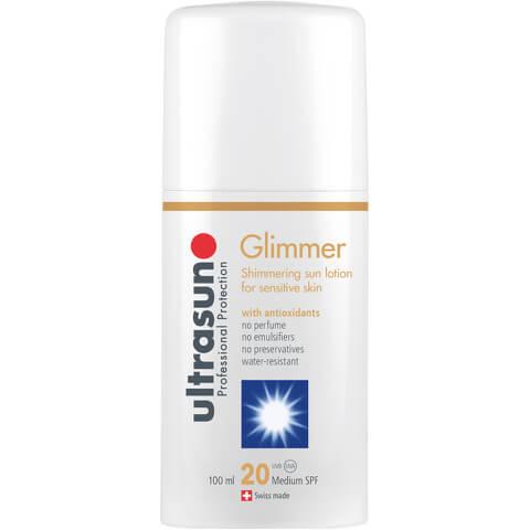 ULTRASUN GLIMMER SPF20 - SENSITIVE FORMULA (100ML)
