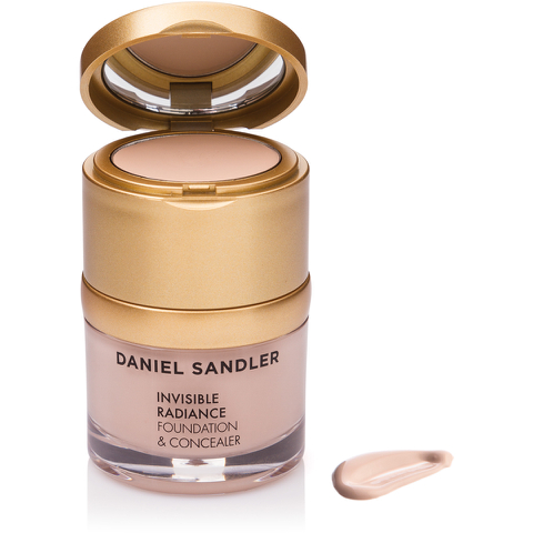 DANIEL SANDLER INVISIBLE RADIANCE FOUNDATION AND CONCEALER - PORCELAIN