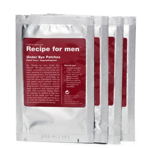 Recipe for Men - Augenpads 4 Stück