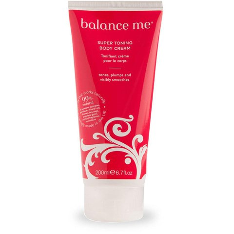 Balance Me Super Toning Body Creme 200ml