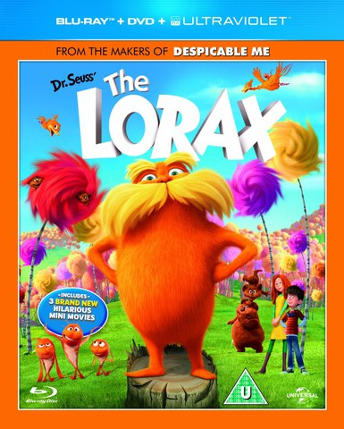 Dr. Seuss Lorax (Blu-Ray, DVD en UltraViolet Copy)