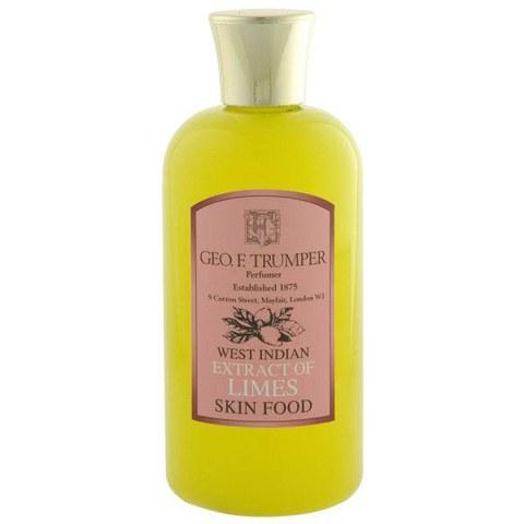Trumpers Limes Skin Food - 200ml Travel